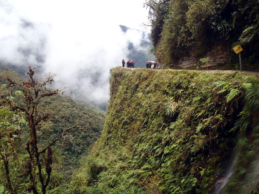 Death-Road-Bolivia-Gravity