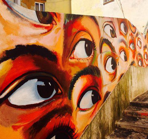 Lisbona-murales