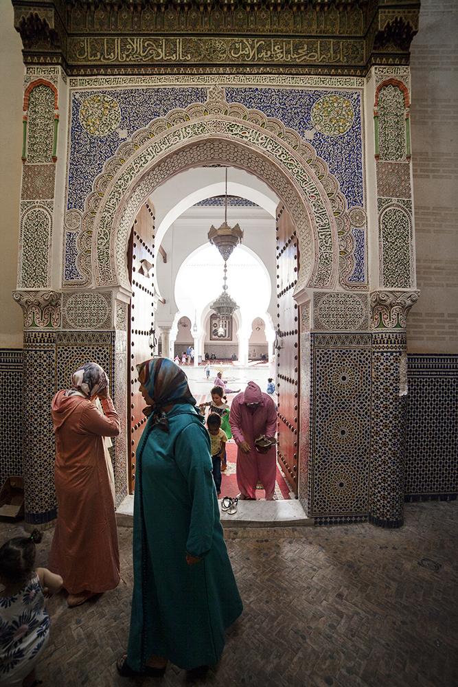 Moschea nella medina di Fez