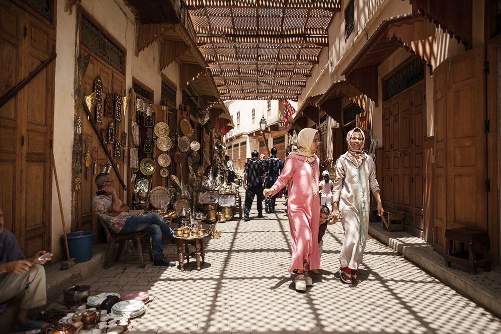 Medina-Fez-Marocco